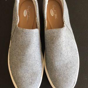 Dr. Scholl's Slip On Sneaker Gray Size 9 NWOB